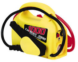 Portable Jump Starter delivers up to 900 A peak power.
