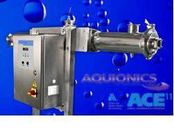 UV-Based Water Disinfection System incorporates dosage display.