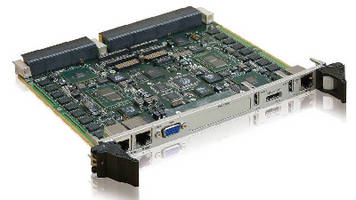 VPX Dual Processor Node features 16 GB soldered ECC RAM.