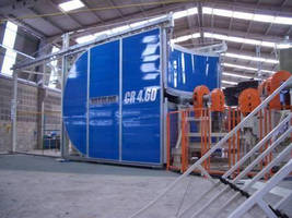 Rotational Molding Machine offers independent arm control.