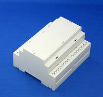 Terminal Block Enclosure houses up to 3 circuit boards.