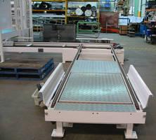 Modular Pallet Conveyor System offers application versatility.