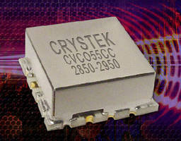 Voltage Controlled Oscillator operates from 2,850-2,950 MHz.