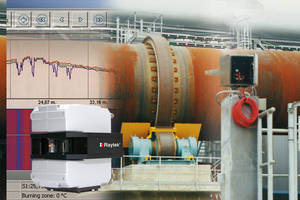 Process Imaging System monitors cement kilns continuously.