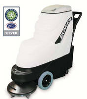 Floor Cleaning System cleans in one pass.