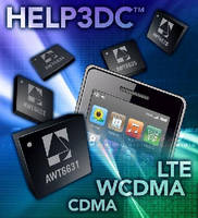 CDMA/WCDMA/LTE Power Amplifiers target cellular devices.