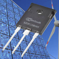 SiC Power Transistor carries 1,200 V and 45 milliohm ratings.