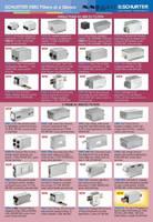 Schurter Touts Broad Range of Standard EMC Filters