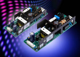 AC-DC Power Supplies offer 10 yr electrolytic capacitor life.