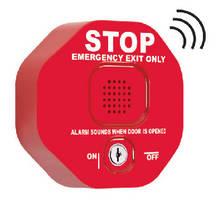 Multifunction Door Alarm prevents unauthorized use of fire doors.
