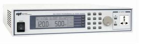 Automated AC Power Sources are available in 4 models.