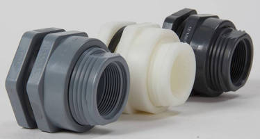 Bulkhead Fittings provide leak-free connections.