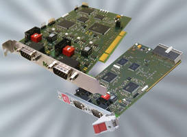 CAN-Bus Interface Board for PCI and 3 U CompactPCI