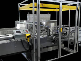 Automatic Horizontal Cartoner integrates into packaging lines.