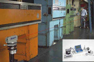 Laser Alignment Kit checks production line machinery.