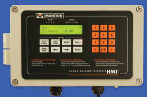 HMI Control Console helps manage continuous level sensors.
