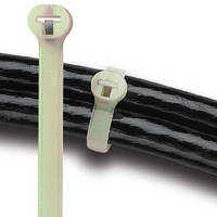 High Temperature Cable Ties feature unlimited tensioning range.