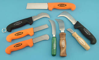 Lineman's Knives are engineered for extended service.