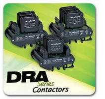 DIN-Rail-Mounted Motor Contactors have solid-state design.