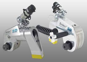 Hydraulic Torque Wrench features ergonomic, 1-piece design.