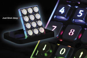 Vandal-Resistant Keypads are customized to application demands.