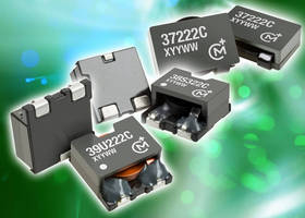 SMT Flat Coil Inductors target high-current applications.