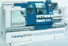 Engine Lathes feature touch screen controls.