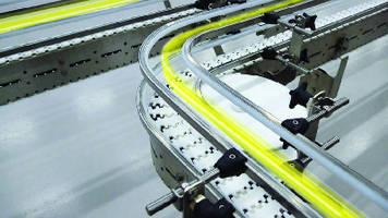 Stainless Steel Conveyors feature fully modular design.