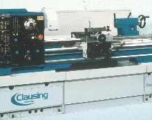 Geared Head Lathe provides vibration-free cutting.