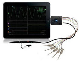 Mixed Signal Oscilloscope operates from Apple iOS devices.