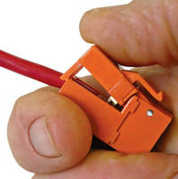 Cat5e/Cat6 Wall Jack is designed for simple installation.