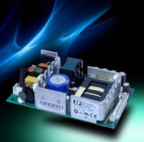 AC-DC Power Supplies deliver up to 150 W.