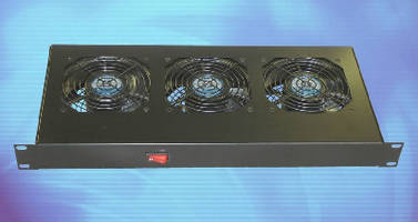 Three-Position AC Fan Trays achieve air flows up to 320 cfm.