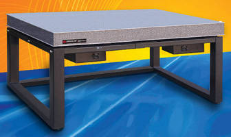 Optical Table Isolator uses negative-stiffness technology.