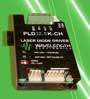 Linear Laser Diode Driver features 12.5 A rating.