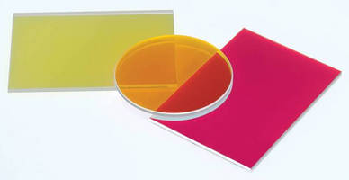 Dichroic Shortpass Filters suit fluorescence applications.