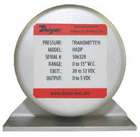 Differential Pressure Transmitters provide ±0.14% FS accuracy.