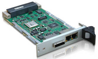 OpenVPX(TM) PCIe, Ethernet Switch delivers optimized bandwidth.