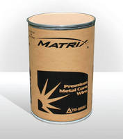 Additional Matrix Metal-Cored Wire Size Available for Welding Thicker Materials