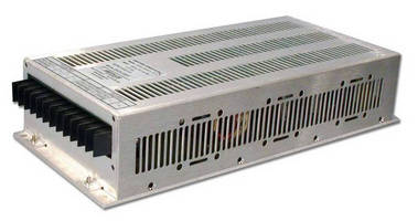 Industrial AC/DC Power Supplies generate 500 W output.