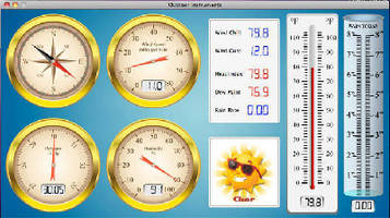 Modular Weather Stations support Mac software.