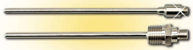 OMEGA Introduces Thermocouple Probes with Mounting Threads and M12 Connectors Standard Sizes