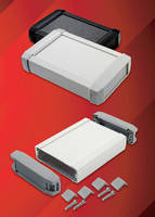 Extruded Aluminum Enclosures suit handheld and desktop devices.