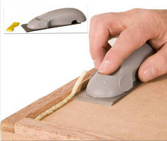 Flush Blade Plane enables trimming of glue lines, wood.