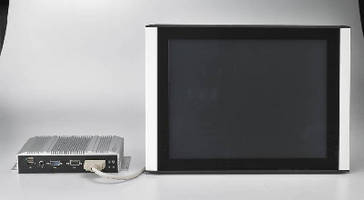 Industrial Touch Monitors feature 15 in. LED backlight panel.