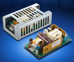 Open-Frame AC-DC Supplies deliver 65 W from 2 x 4 in. footprint.