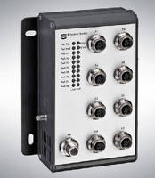 PoE Switches operate from -40 to +70°C.