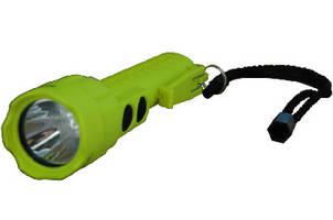 Dual Beam LED Flashlight features intrinsically safe design.