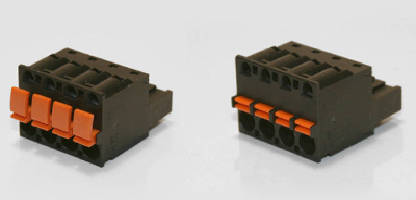 Pluggable Terminal Blocks use spring clamp technology.