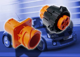 Four-Way Electrical Connector is IP67- and IP69k-rated.